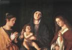 Джованни Беллини. Мадонна с младенцем и двое святых