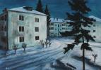 Денис Григорьевич Русаков. Небо, ночь, три белых дома