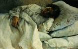 Николай Александрович Ярошенко. Спящая девушка. 1881