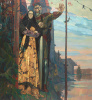 """Northern ballad. The left part of the triptych """"Alexander Nevsky"""""""