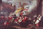 Смерть майора Пирсона 6 января 1781 (Штурм Джерси)