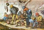 Адриан ван Остаде. Сцена в таверне