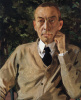 Portrait of the composer Sergei Rachmaninoff