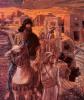 Nehemiah looks on the ruins of Jerusalem