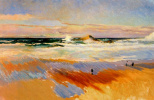 Хоакин Соролья (Соройя). Пляж в Биаррице, Франция