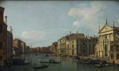 Джованни Антонио Каналь (Каналетто). Большой канал в Венеции, вид с юго-востока от Сан-Стае в сторону новых заводов в Риальто