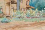 Матильда Браун. Весенний сад