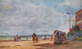 Эжен Буден. Пляж в Трувиле