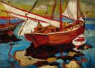 Рыбацкие лодки в гавани