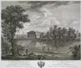 Вид Каменноостровского дворца со стороны Большой Невки