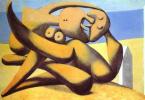 Пабло Пикассо. Фигуры на берегу моря