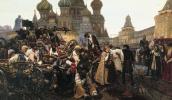 Vasily Ivanovich Surikov. Morning of Streltsy's execution