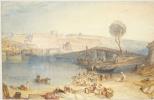 Joseph Mallord William Turner. View of the castle of Saint-Germain-EN-Laye