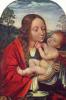 Пейзаж с Марией и младенцом Иисусом