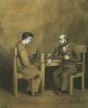"""Raskolnikov and Marmeladov. Based on the novel F. M. Dostoevsky """"Crime and punishment"""""""