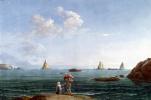 Жан-Пьер-Лоран Уэль. Острова Циклопов в бухте Ла Трицца. Общий вид