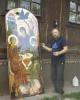 Фасадная икона Пресвятой Троицы