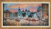 Igor Razzhivin. Pink twilight