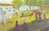 Georges Seurat. Small sketch