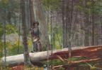 Winslow Homer. Hunter in the Adirondacks