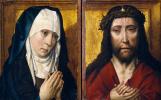 Дирк Баутс. Копия. Скорбящая Богоматерь. Христос в терновом венце. ок.1525