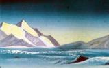 Николай Константинович Рерих. Тибет (Сиреневые тени)
