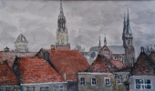 Natasha Chubarova. Delft, Hommage a Vermeer