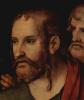 Христос и грешница, деталь: Христос