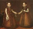 The Infanta Isabella Clara Eugenia and Catalina Micaela