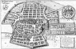 Маттеус Мериан Старший. Штутгарт, панорамный план с юга