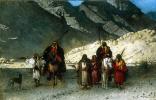 Арабские шейхи в горах