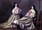 Мать Катрин Аньес Арно и сестра Катрин де Сент-Сюзан