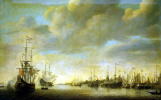 The arrival of William of orange in Rotterdam