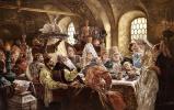 Boyar wedding feast in the XVII century
