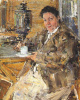 The artist's mother Praskovia Feshina