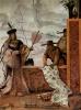 Фрески из виллы Вальмарана в Виченце. Китайский торговец тканями