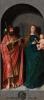 Святой Иаков Зеведеев и Мадонна с младенцем