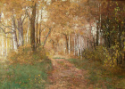 Boris Petrovich Zakharov. The gold of autumn.