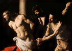 Микеланджело Меризи де Караваджо. Христос у колонны