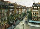 Улица Кюстин на Монмартре
