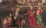 Витторе Карпаччо. Встреча обрученной пары и отъезд паломников