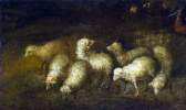 Бартоломе Эстебан Мурильо. Овцы на водопое