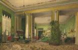 Василий Семенович Садовников. Интерьер гостиной в доме князей Галицыных