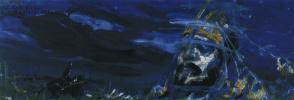 """Константин Алексеевич Коровин. Руслан и Голова. Эскиз декорации к опере М. Глинки """"Руслан и Людмила"""""""