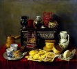 Still life with cupboard