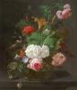 Летние цветы в вазе