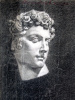 Аполлон.1890. Академический рисунок