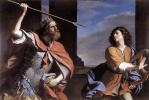 Джованни Франческо Гверчино. Атака Давида