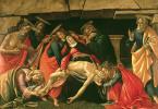 Sandro Botticelli. Lamentation Of Christ