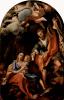 Мадонна делла Скоделла, Отдых на пути в Египет